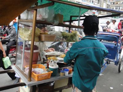 カンボジア 屋台 飯