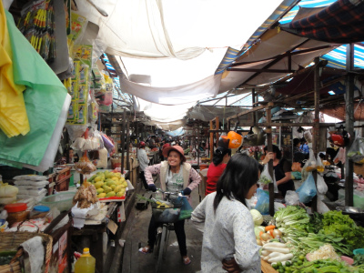カンボジア プノンペン マーケット